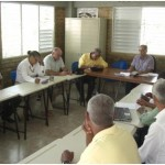 Miembros de la Asamblea del CREAR reunidos el 20 de julio 2013 en Rio Limpio